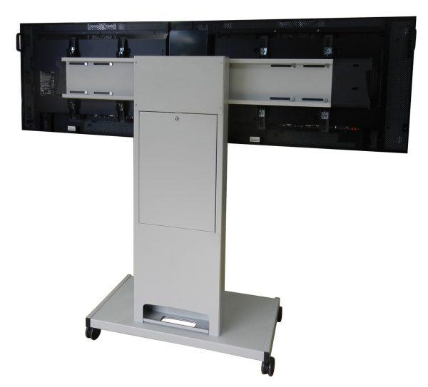 Dual Medienwagen mit Kamera Halterung